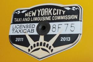 New York Taxi Medallion